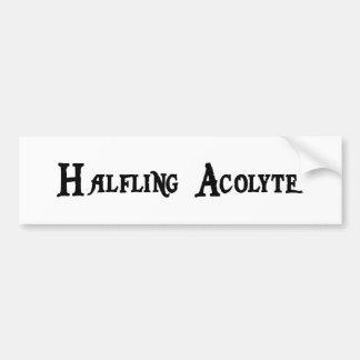 Halfling Acolyte Bumper Sticker