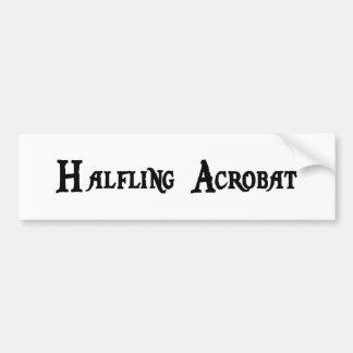 Halfling Acrobat Bumper Sticker