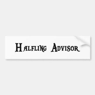 Halfling Advisor Bumper Sticker