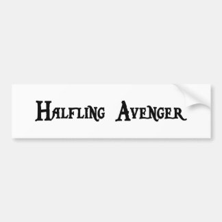 Halfling Avenger Bumper Sticker