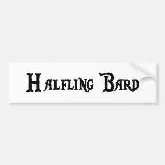 Halfling Bard Bumper Sticker