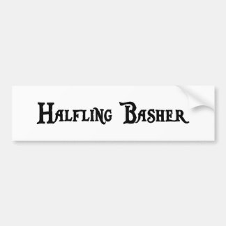 Halfling Basher Bumper Sticker