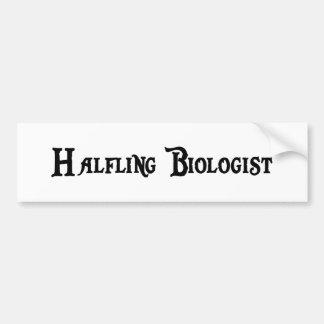 Halfling Biologist Bumper Sticker