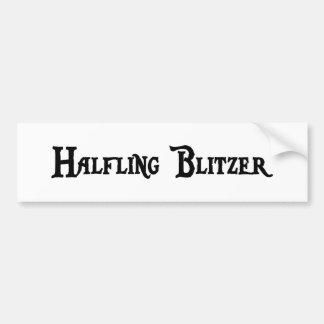 Halfling Blitzer Bumper Sticker