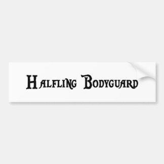 Halfling Bodyguard Bumper Sticker