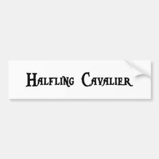 Halfling Cavalier Sticker