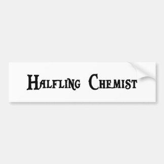 Halfling Chemist Bumper Sticker