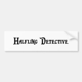 Halfling Detective Sticker