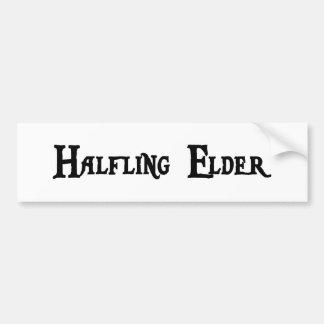 Halfling Elder Sticker