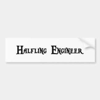 Halfling Engineer Bumper Sticker