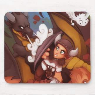 Halfling Fight Mouspad Mouse Pad