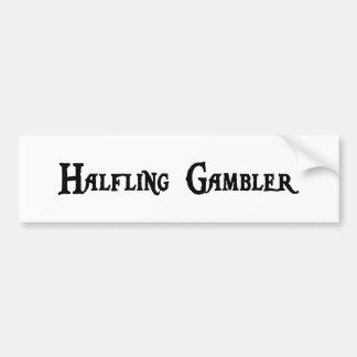 Halfling Gambler Bumper Sticker