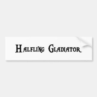 Halfling Gladiator Bumper Sticker