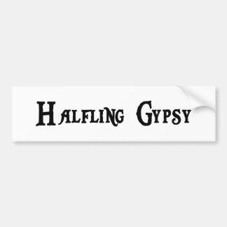 Halfling Gypsy Bumper Sticker