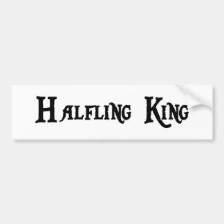 Halfling King Bumper Sticker