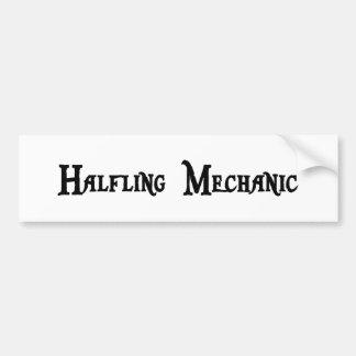 Halfling Mechanic Bumper Sticker