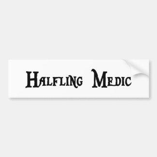 Halfling Medic Bumper Sticker