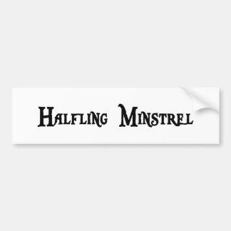 Halfling Minstrel Bumper Sticker