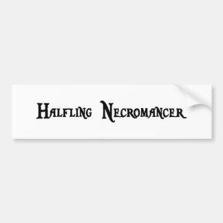 Halfling Necromancer Sticker