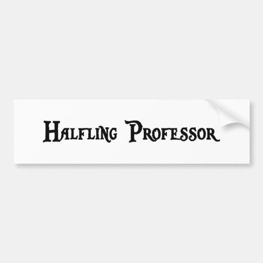 Halfling Professor Bumper Sticker