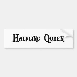 Halfling Queen Bumper Sticker
