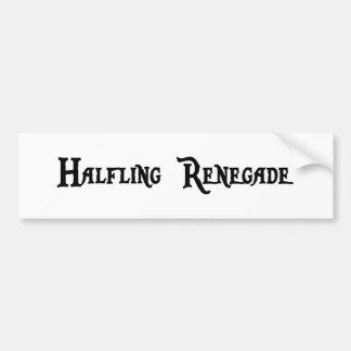 Halfling Renegade Bumper Sticker