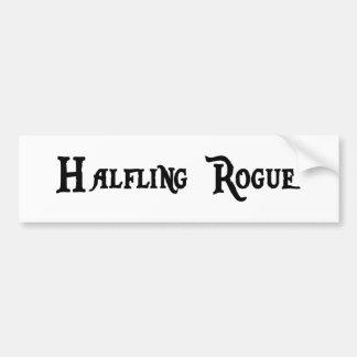 Halfling Rogue Bumper Sticker