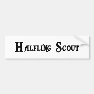 Halfling Scout Bumper Sticker