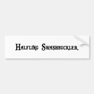 Halfling Swashbuckler Bumper Sticker