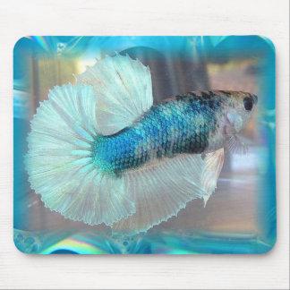 Halfmoon Betta Fish Mouse Pad