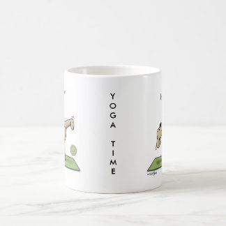 Halfmoon Yoga Time Coffee Mugs