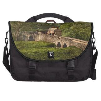Halfpenny Bridge, Ambergate, Derbyshire, England Laptop Bag