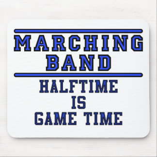 Halftime Is Game Time! Mouse Pad