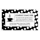 halftone coffee business card templates