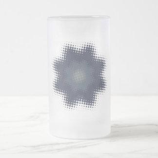 Halftone Flower Mug