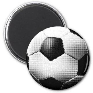 halftone football aka soccer ball ⚽ magnet