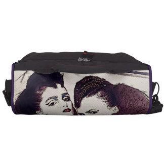 Halftone Girls Laptop Shoulder Bag