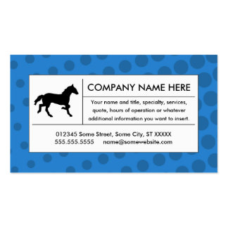 halftone horse Double-Sided standard business cards (Pack of 100)