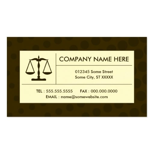 Law student business card templates page3 bizcardstudio halftone justice scale business card templates cheaphphosting Images