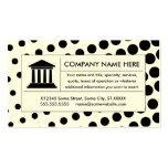 halftone law business card