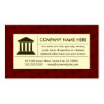 halftone law business card template