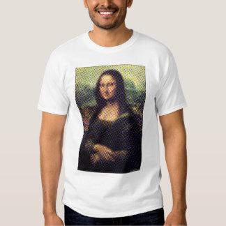 Halftone Mona Lisa Shirt