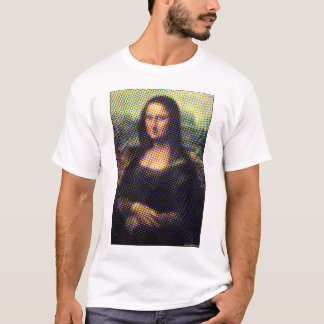Halftone Mona Lisa T-Shirt