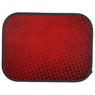 Halftone pattern background car floor mat