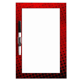 Halftone pattern background Dry-Erase board