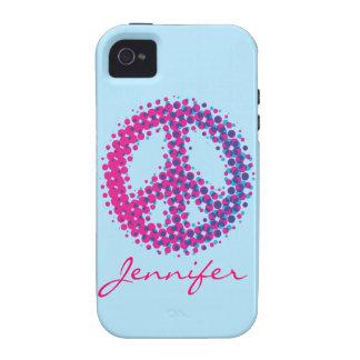 Halftone Peace Symbol iPhone 4/4S Cover