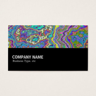 Halfway 035 - Colorful Mineral Business Card