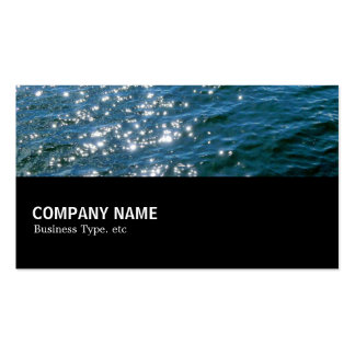 Halfway 04 - Sparkling Water Double-Sided Standard Business Cards (Pack Of 100)