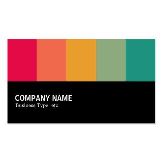 Halfway Colorbars 02 Business Card