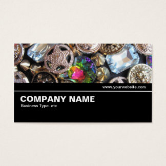Halfway V2 027 - Flea Market Bling Business Card